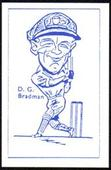 Caricatures of Cricketers (No artists signature) c1960