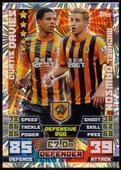 Match Attax Extra 2014/15 Duo foil fronts 2015