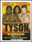 Iron Mike Tyson Additional Card Tyson v Mc Bride 2005