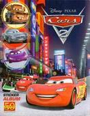 Cars Disney Pixar 2011 Empty Sticker Special Album for set of 198