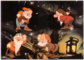 Snow White and The Seven Dwarfs Series 1 (Red and yellow backs plus 11 cards turquoise back and front) 1993