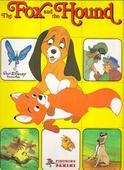 The Fox and the Hound Disney Film 1981 Empty Sticker Special Album for set of 360
