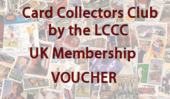 Card Collectors Club 12 Months UK Membership Voucher