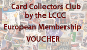 Card Collectors Club 12 Months European Membership Voucher