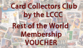 Card Collectors Club 12 Months Outside of Europe Membership Voucher