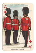 Our Modern Army (Playing card inset) 1956