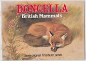 British Mammals Doncella Issue 1983 Special Album