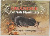 British Mammals Grandee Issue 1982 Special Album