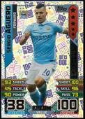 Match Attax Extra 2015/16 100 Club Sergio Aguero (Black back with Blue & Green border) 2016