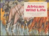 African Wild Life Original Special Album (Matt cover with price small print on front black)