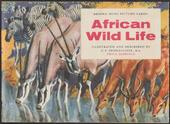 African Wild Life Original Special Album (Matt cover with price small print on front blueish grey)