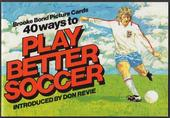 Play Better Soccer Re issue Special Album (Inside pages cream)
