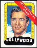 Hollywood Moviemen Promotional Cards (Arnold Schwarzenegger and Jack Nicholson) 1993