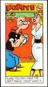 Popeye 4th Series (Farnham Road address Paper Thin card) 1970