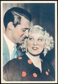 Film Stars No. of a Series of 24 cards Without Postcard Format Back 1934