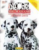 Disneys 101 Dalmatians plus its special album (stickers contained on 6 sheets in centre of album) 1996