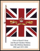 Infantry Regimental Colours The Cheshire Regiment 2006