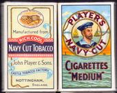 Navy Cut empty 10s cigarette packet Sailors Head Motif Back Navy Cut Tobacco c1940