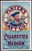 Navy Cut empty 5s cigarette packrt Sailors Head Mitif c1940