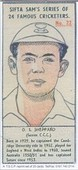 Famous Cricketers 1950 (Set 24 + 1 variety) (reprint 2001)