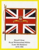 Infantry Regimental Colours The Border Regiment 2005