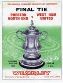 West Ham United FA Cup Winners 1964 Programme Covers 2005