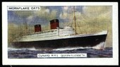 The Cunard Line (black back) 1957