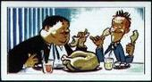 Laurel and Hardy (cartoon) (paper thin card) 1972