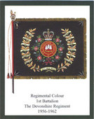 Infantry Regimental Colours The Devonshire Regiment 1st Series 2006