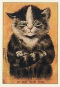 Attitude Cats by Louis Wain Series LW5 2005