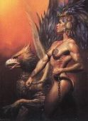 Magnificent Myths Boris 4 Fantasy Art 1994