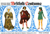 British Costumes Reprint Special Album (glossy cover with price)
