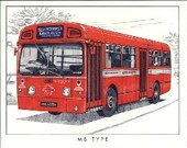 London Buses of the Post-War Years 1997