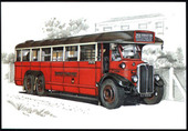 London Buses of the Pre-War Years (numbered 065-068) 1999