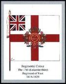 Infantry Regimental Colours The Royal Leicestershire Regiment 1st Series 2006