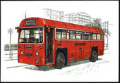 London Buses of the Post-War Years (numbered 069-072) 1999