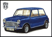 Mini Cooper (numbered 161-164) 2010