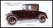 Motor Cars 1st Series 1922 reprint 1988