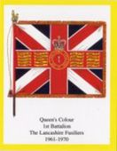 Infantry Regimental Colours The Lancashire Fusiliers 1st Series (Error printing with Royal) 2005