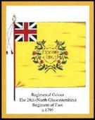 Infantry Regimental Colours The Gloucestershire Regiment 1st Series 2006