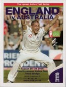 Ashes Set Match Action Bonus Set Programme Covers 2005