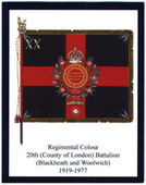 Infantry Regimental Colours The London Regiment 1st Series 2008