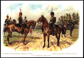 Soldiers and Cavalry by Richard Simkin (1890-1905) 2008
