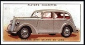 Motor Cars 1st Series 1936 reprint 1990