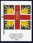 Infantry Regimental Colours The Queens Royal Regiment (West Surrey) 1st Series 2004