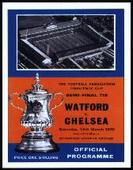 Chelsea F C  F A Cup Winners 1970 Programme Covers 2006