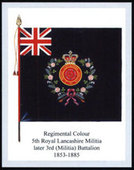 Infantry Regimental Colours The East Lancashire Regiment 1st Series 2007