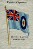 British Empire Flags (inscribed printed in USA and printed on silk) 1933
