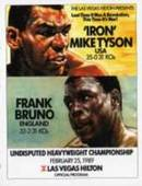 Frank Bruno Programme Covers 2005