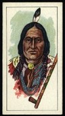 American Indian Tribes (Cream card) 1962